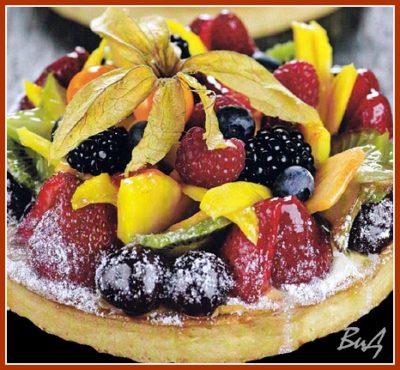 выпечка и десерт с фото